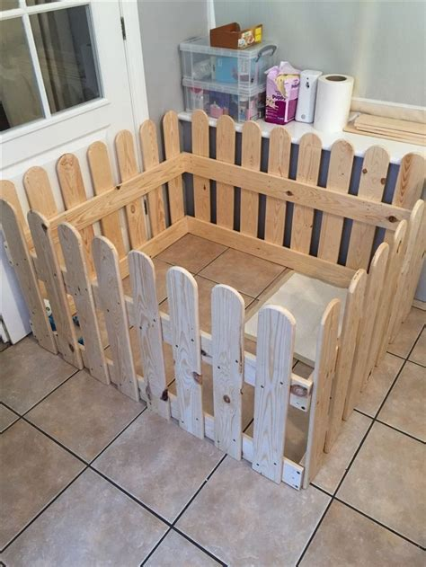 Diy Wooden Dog Playpen