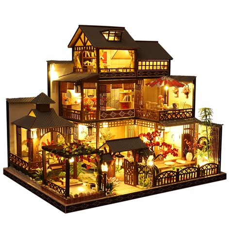 Diy Wooden Dollhouse Kits