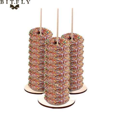 Diy Wooden Donut Stand