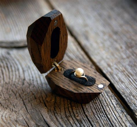 Diy Wooden Engagement Ring Box