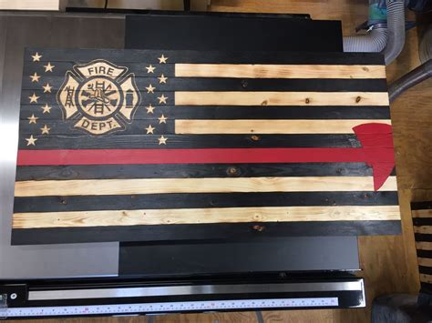 Diy Wooden Flag With Sotrage