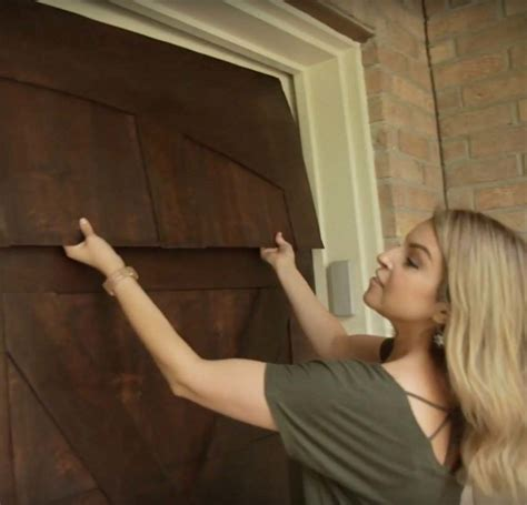 Diy Wooden Garage Door Skin