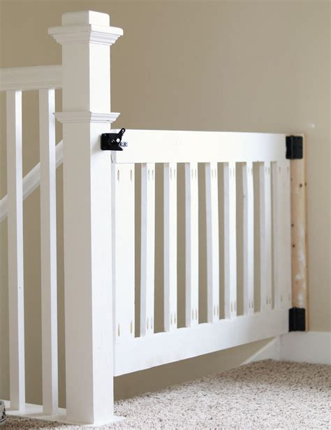 Diy Wooden Gate For Stairs