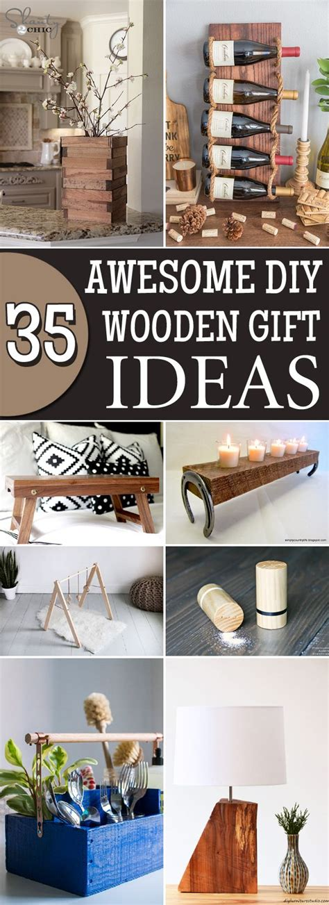 Diy Wooden Gift Ideas