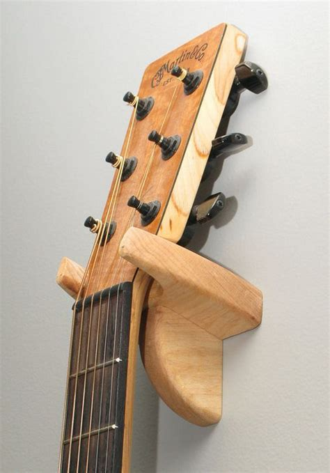 Diy Wooden Guitar Hanger