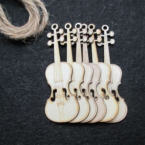 Diy Wooden Guitar Ornament