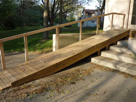 Diy Wooden Handicap Ramp