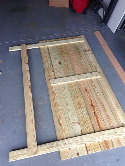 Diy Wooden Headboard For Full Size Bed