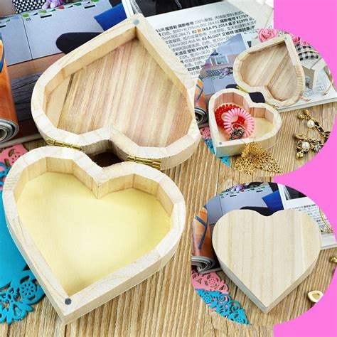 Diy Wooden Heart Box