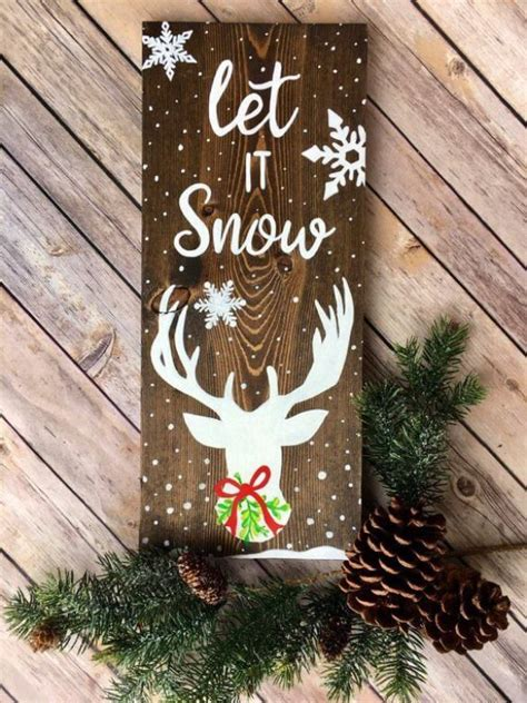 Diy Wooden Holiday Signs