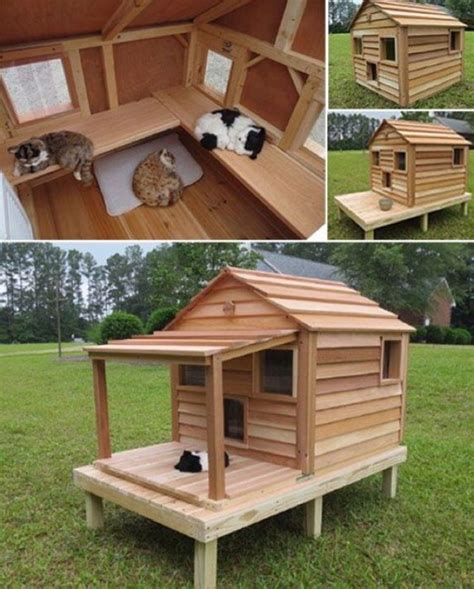 Diy Wooden House For Cat