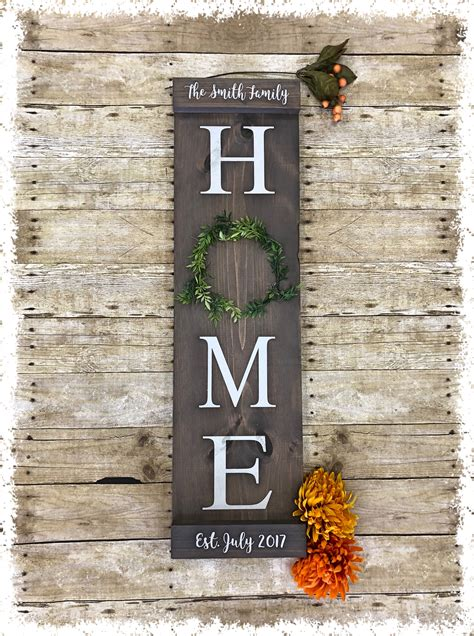 Diy Wooden House Signs
