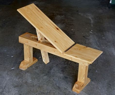 Diy Wooden Incline Bench