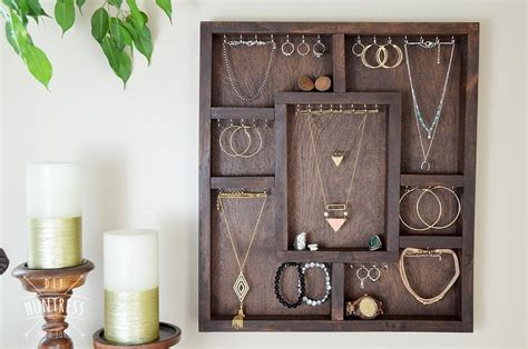 Diy Wooden Jewelry Holder