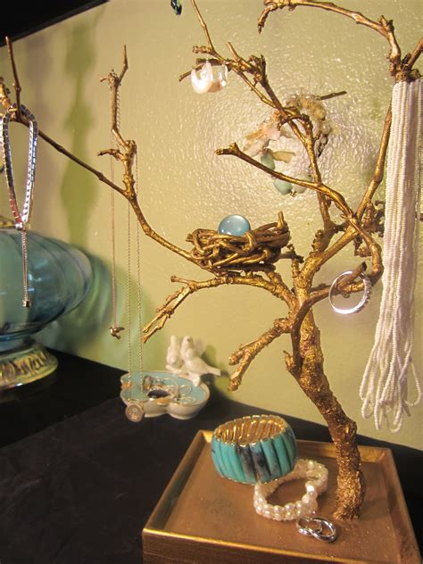 Diy Wooden Jewelry Tree