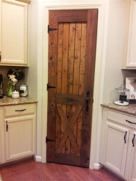 Diy Wooden Kitchen Pantry With Doors