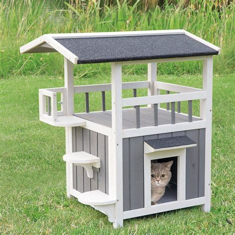 Diy Wooden Outdoor Cat House