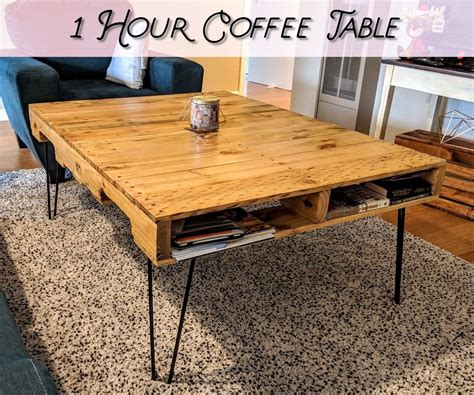 Diy Wooden Pallet Coffee Table Instructions Not Included Movie