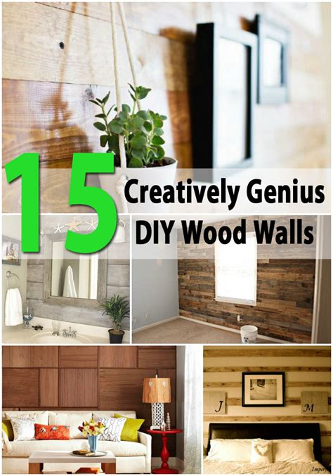 Diy Wooden Plank Wall