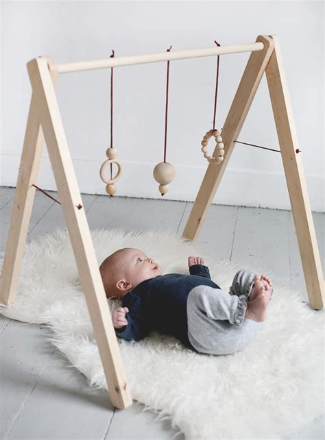 Diy Wooden Play Gym Toys