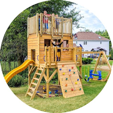 Diy Wooden Play Structure Plans
