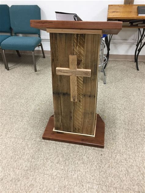 Diy Wooden Pulpit