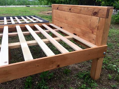 Diy Wooden Queen Size Bed Frame