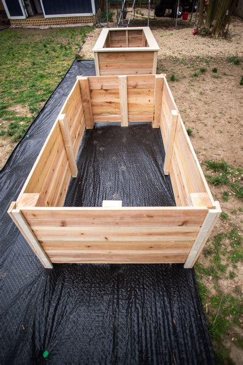 Diy Wooden Raised Garden Bed
