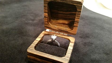 Diy Wooden Ring Box