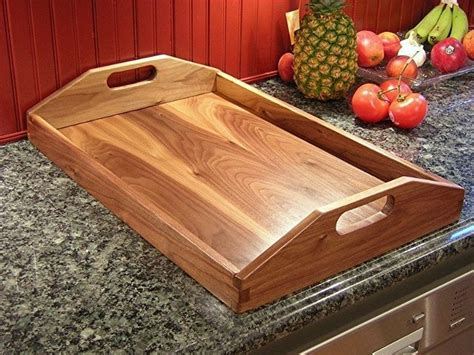 Diy Wooden Serving Tray Plans