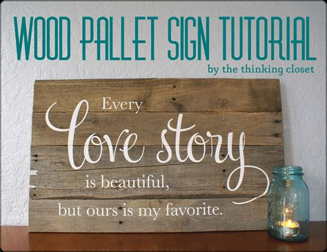 Diy Wooden Signs Tutorial
