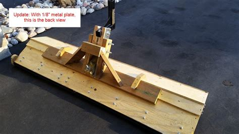 Diy Wooden Snow Plow