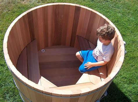 Diy Wooden Soaking Tub