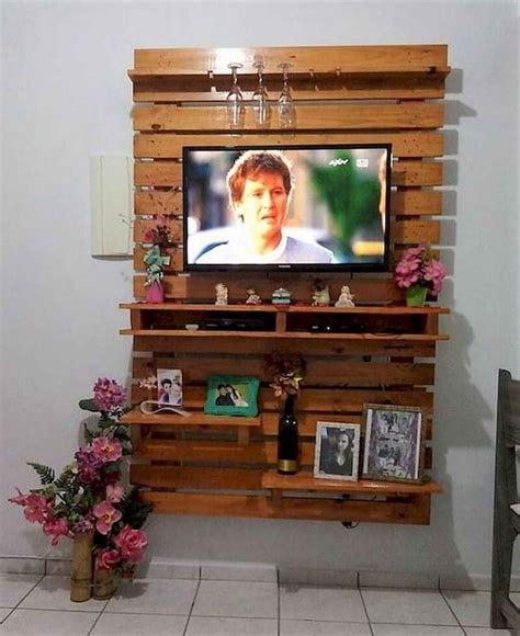 Diy Wooden Stand Box For 50 Tv