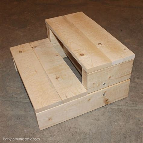 Diy Wooden Step Stool Plans 2x4
