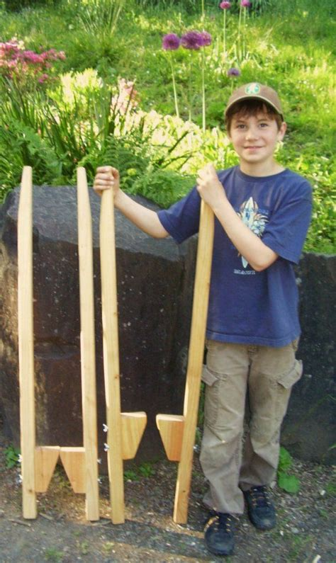 Diy Wooden Stilts For Kids
