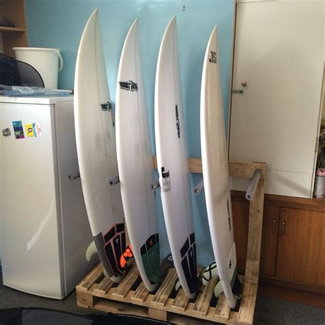 Diy Wooden Surfboard Rack