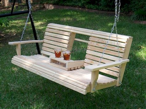 Diy Wooden Swing With Pergola