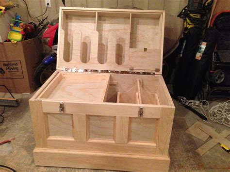 Diy Wooden Tack Trunk