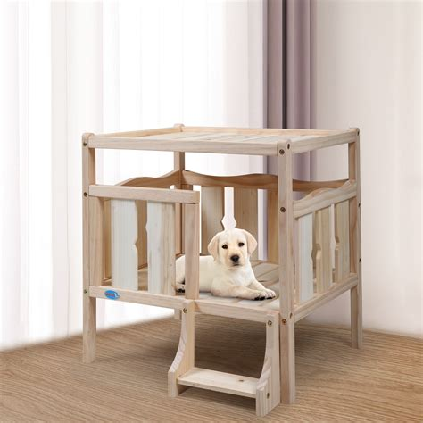 Diy Wooden Toy Dog Bed House