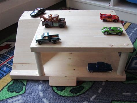 Diy Wooden Toy Garage Plans