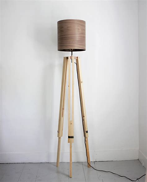 Diy Wooden Tripod Lamp