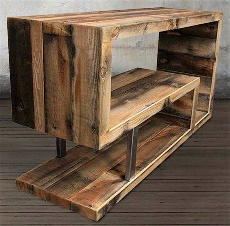 Diy Wooden Tv Stand Plans