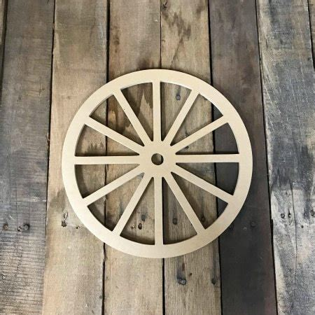 Diy Wooden Wagon Wheels