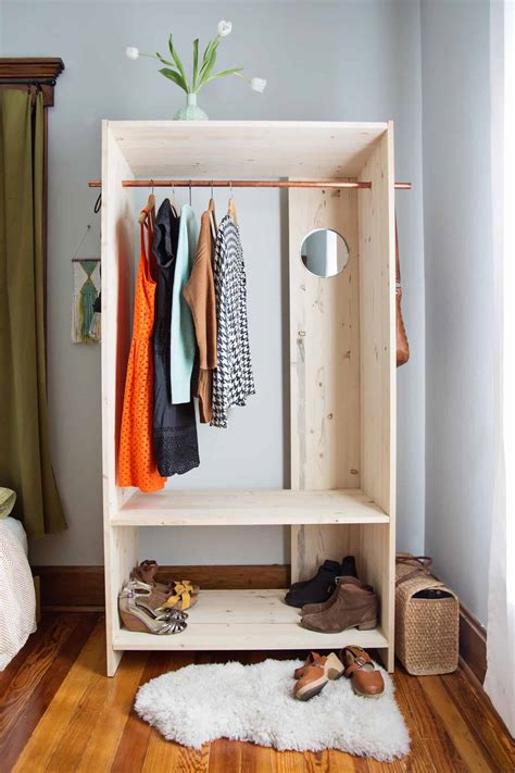 Diy Wooden Wardrobe Plans