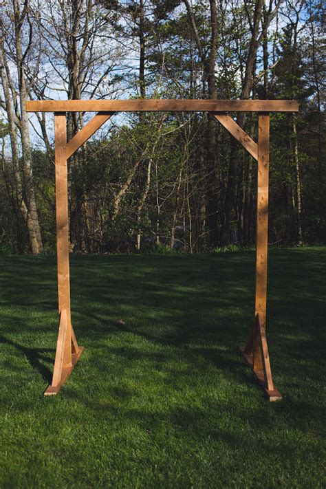 Diy Wooden Wedding Archway
