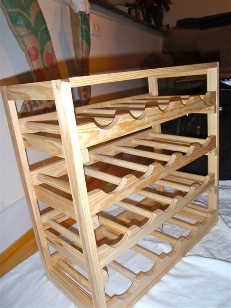 Diy Wooden Wine Rack Plans