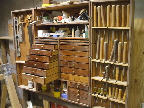 Diy Woodshop Cabinets Pictures