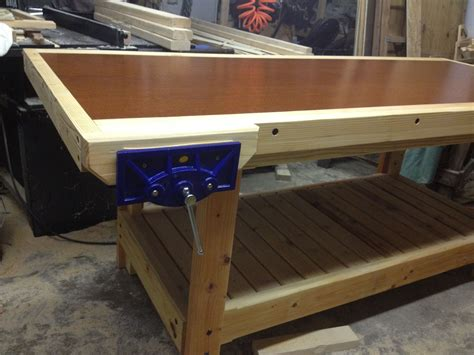 Diy Workbench From Solid Core Door