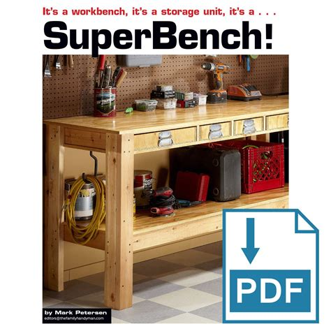 Diy Workbench Plans Family Handyman